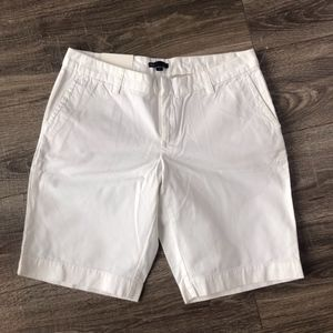Gap Chino shorts, White size 10